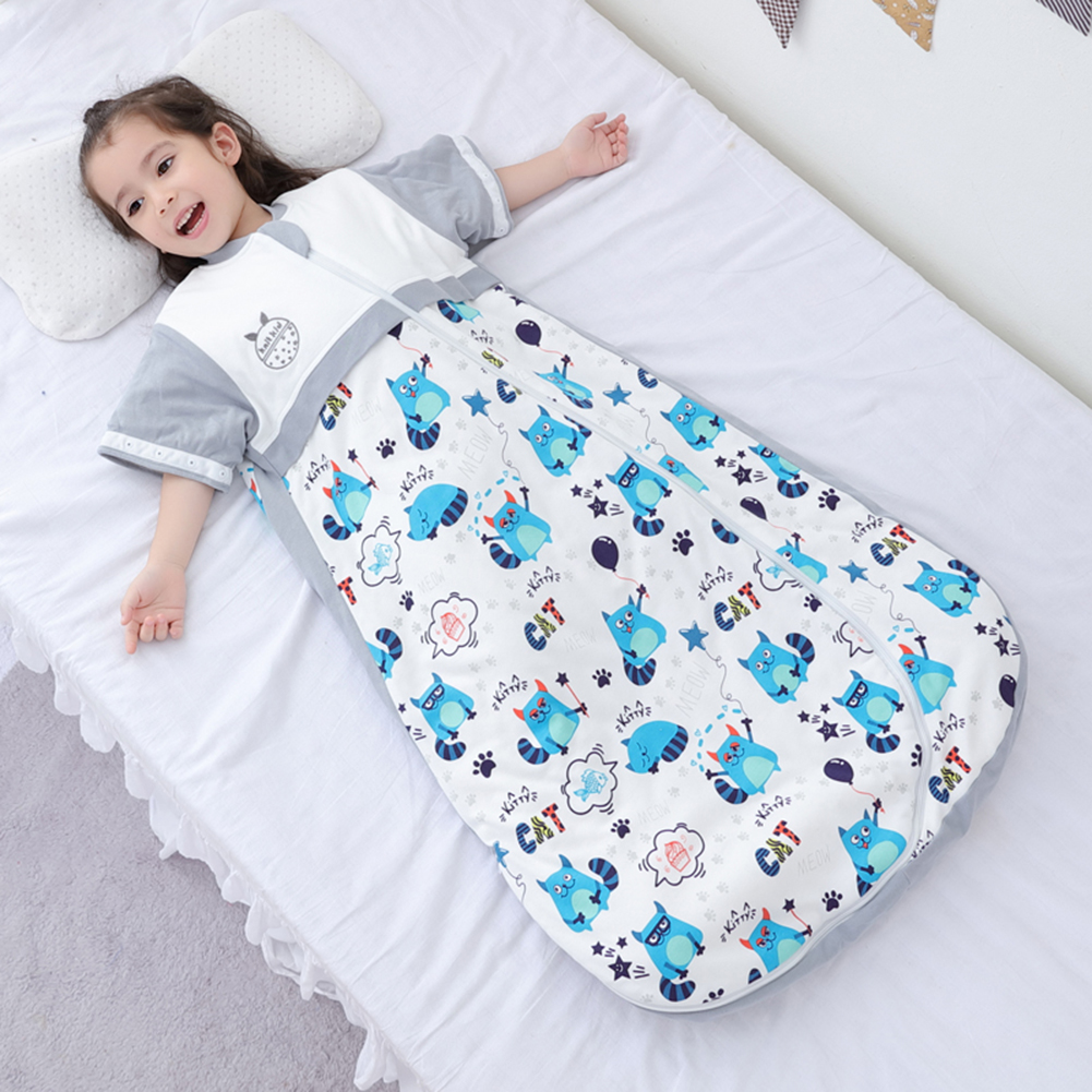 Cotton Baby Sleeping Bag Full Sleeve Newborn Anti-kicked Sleep Sack Baby Sleeper Bedding Products For 0-12 Months Baby