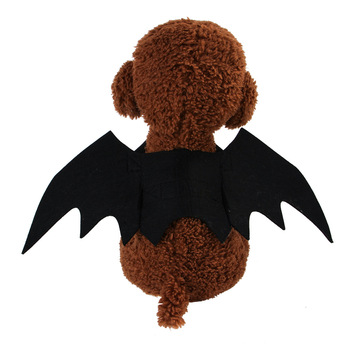 New pet clothes Halloween creative cats and dogs small bat wings turned costumes