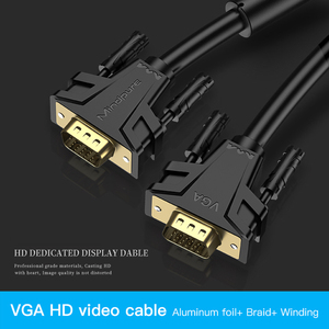 Image 5 - 1080P VGA Cable gold plated Connector VGA to VGA Cable for computer projector monitor screen 1.5m 3m 5m 8m 10m 12m 15m 20m