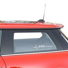 Светоотражающие окна автомобиля наклейки дверь тело сторона наклейка для мини купер Р50 Р52 r53 номер в r56 R55 описание Р58 либо r57 R59 R61 Г60 F56 F54 F55, которая от F60