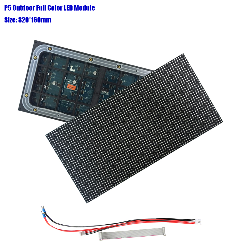 3years Warranty High Resolution P5 320x160mm Module 64x32pixel Outdoor Waterproof Stage Led Display Video Wall Modules