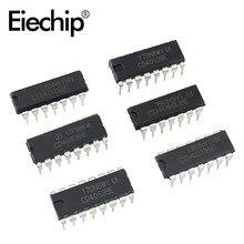 Ic chip cd4069 cd4011cd4052 cd4053 dip pacote lógica ics, portões e inversores ic circuito integrado cmos eletrônica chips