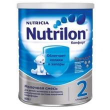 Молочная смесь Nutrilon Комфорт 2 с 6 мес 800 гр