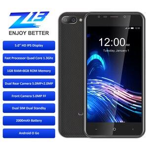 """Image 3 - LEAGOO Z13 telefon komórkowy 5.0 """"ekran IPS 1GB RAM 8GB ROM podwójna kamera tylna Dual SIM 2000mAh Android czterordzeniowy 3G Smartphone"""