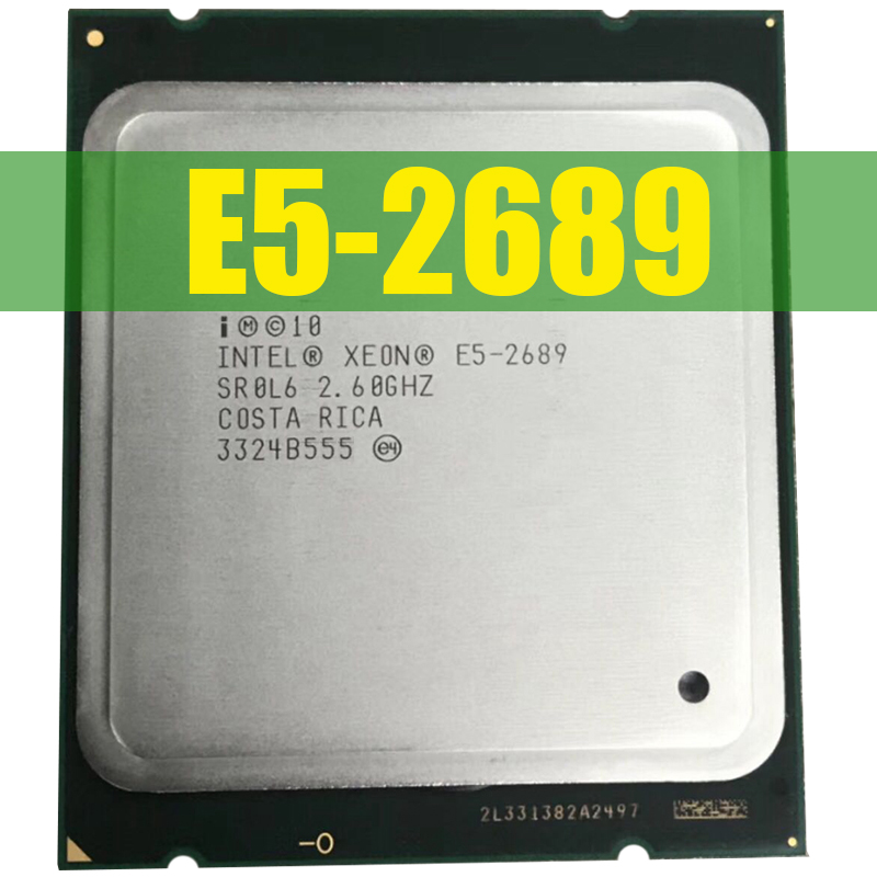 Intel CPU Processor Threads Hay-Vender 8-Core E5-2689 E5 2690 16