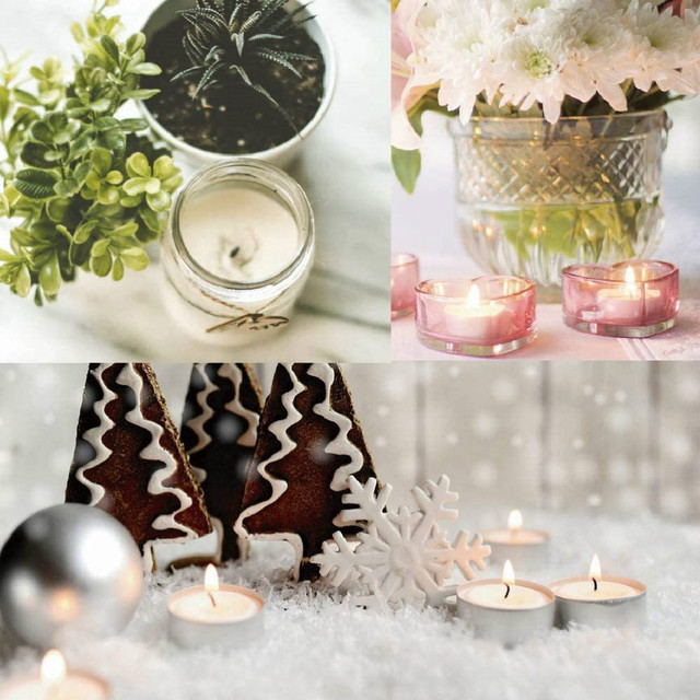 202 Pcs Candle Making Kit Diy Candles Craft Tools Cotton Candle Wicks With Candle Wick Stickers And Centering Device|Candle Making Kits|   -