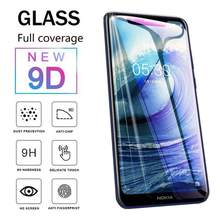 Full Cover Tempered Glass for Nokia X3 X5 X6 X7 X71 Screen Protector for Nokia 4.2 2.2 3.1 5.1 6.1 7.1 PLUS 8.1 Protective Film(China)