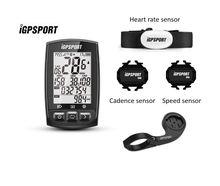 IGPSPORT IGS50E Mtb אופניים מחשב GPS עמיד למים IPX7 ANT + אלחוטי רכיבה על אופניים מד מהירות אופני דיגיטלי סטופר אבזרים
