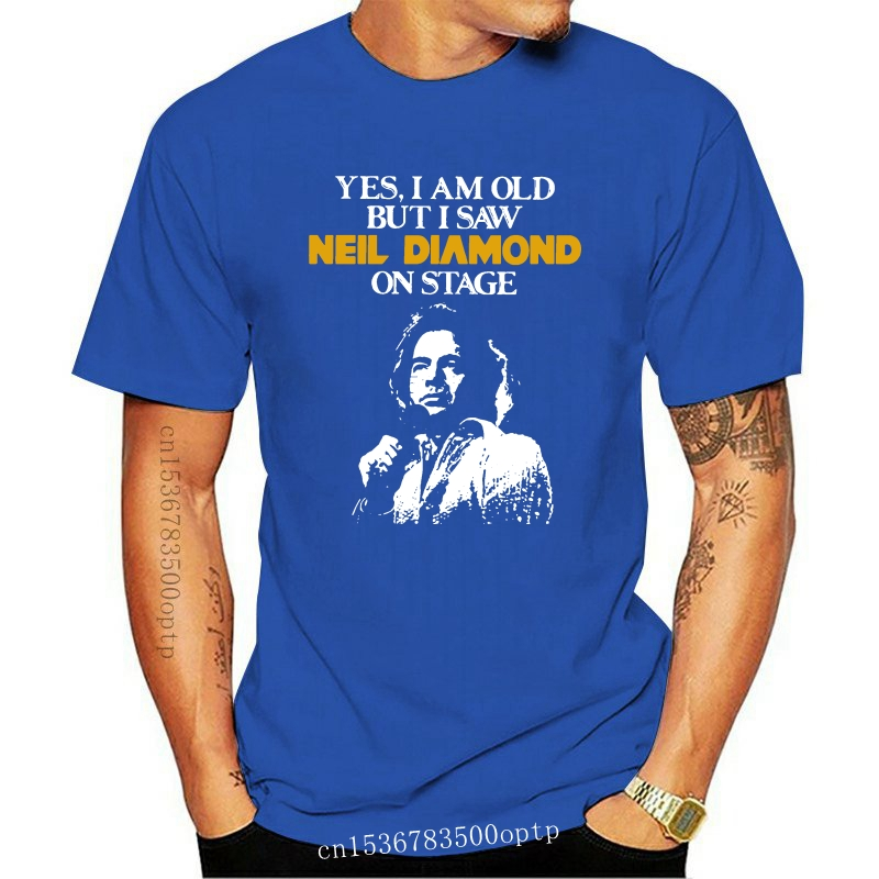 Yes I am old but I saw Neil Diamond on stage shirt