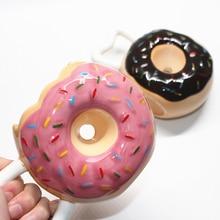 Donut Ceramic Mug Creative Bread Cup Donut Mug with Handle Home Office Biscuit Milk Coffee Mug Tea Cups Drinkware Novelty Gifts недорого