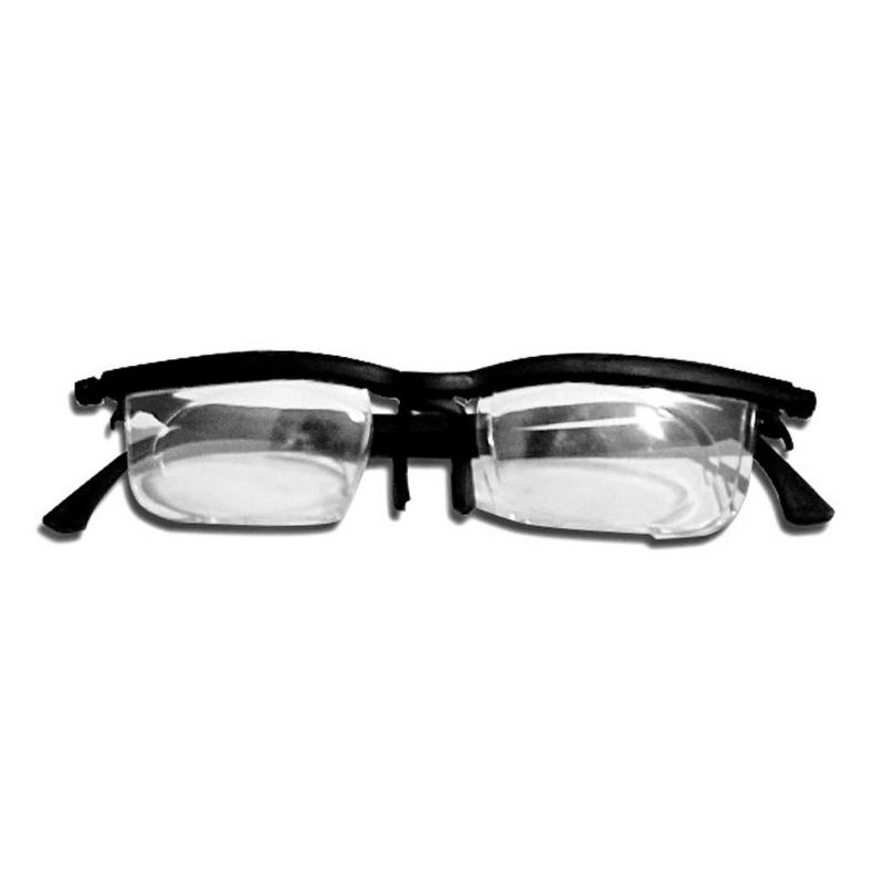 Dial Adjustable Glasses Variable Focus For Reading Distance Vision Eyeglass Support Dropshipping