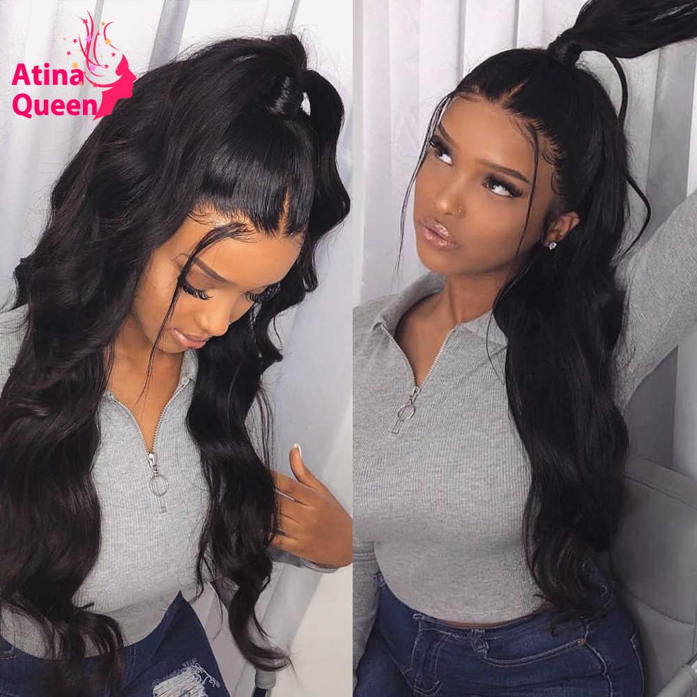 Pelucas de encaje transparente HD, peluca de cabello humano con ondas en el cuerpo y encaje Frontal derretido 13x6 De encaje profundo Frontal para mujeres, peluca de encaje completa Suiza Remy 130%