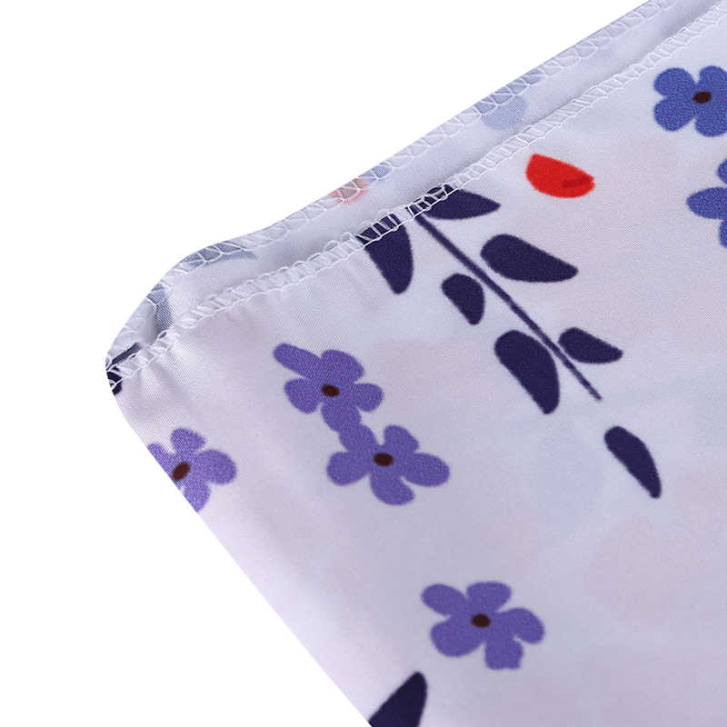 ดอกไม้พิมพ์โพลีเอสเตอร์แขวนแขวนผนังตกแต่ง Tapestry พรมผ้าเช็ดตัวชายหาดผ้าปูโต๊ะรูปสี่เหลี่ยมผืนผ้า
