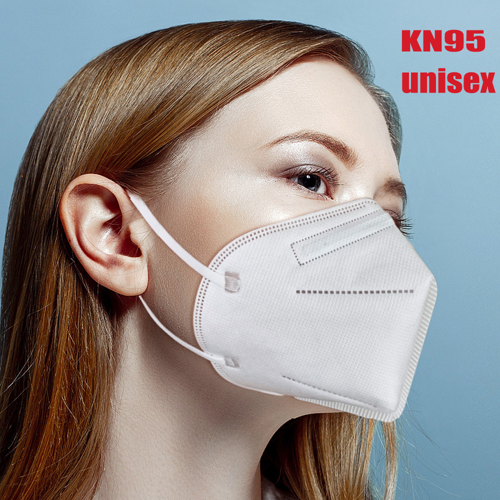 50pcs Non-disposable Bacteria Proof KN95 Mask With Activated Carbon Filter Anti-fog Mask For Face Dustproof Mouth Mask