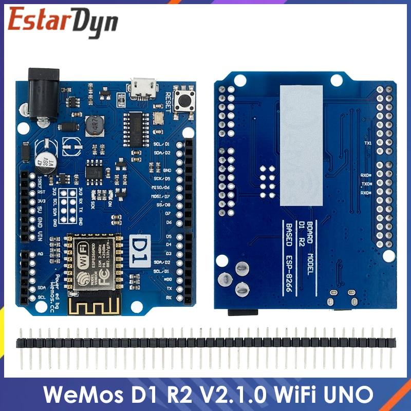WeMos D1 R2 WiFi uno based ESP8266 for arduino nodemcu Compatible