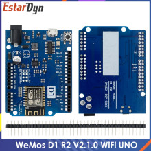 WeMos D1 R2 WiFi uno based ESP8266 for arduino nodemcu Compatible