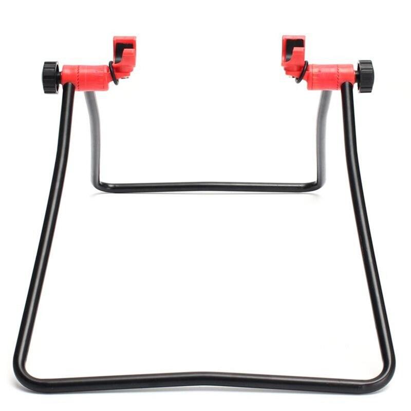 Треугольная вертикальная подставка для горного велосипеда, шоссейного велосипеда, подставка для ремонта колеса велосипеда, подставка для ...
