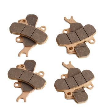 1 set(8pcs) Front and rear brake pads Brake Pads for Can-Am Maverick X3 4x4 2017-2019 Front & Rear Brakes Race-Driven