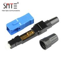500ピース/ロットsc upc 8802 TCL/3 60ミリメートルftth繊維皮下コネクタsc/upc SC UPC光ファイバ