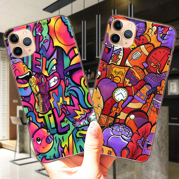 SUPREME Copic Marker Doodle Phone Case For iPhone 11 12 Mini Pro XS Max X XR 6 6S 7 8 Plus 5S SE 2020 SE2 Soft Back Cover image