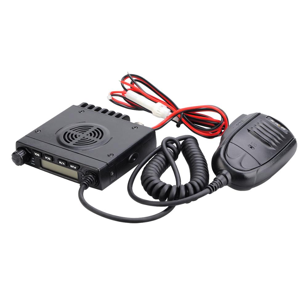 RETEVIS RT98 Two-way Car Radio Station 15W VHF ( Or UHF )  Car Mobile Radio Car Two-way Radio Ham Radio Walkie Talkie Truckers