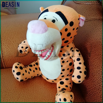 Early education brushing teeth doll Dental Clinic gift Lovely animals brushing teeth model