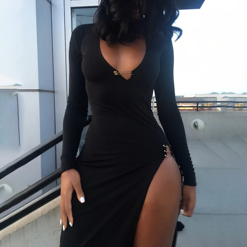 midi sexy club dress14