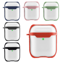 Cover For Airpods Case Transparent Matte Earphone Accessories Wireless Bluetooth Cover For Apple Airpods pro Case 3 Bag