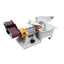 цена на Multifunctional Electric Sharpener Polisher Novice Small Grinding Machine Desktop Polisher Woodworking Metal Polisher Orbital