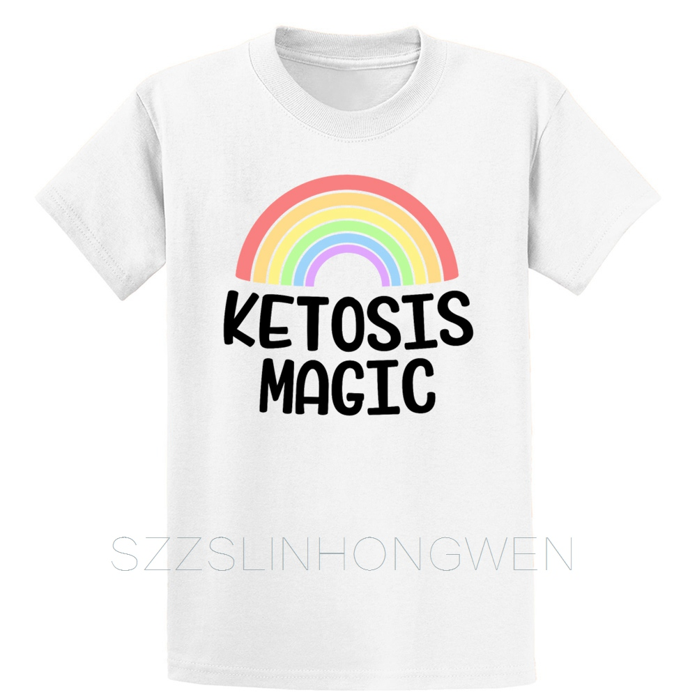 The Only_Drug I Need Is Ketones Funny Keto Diet T Shirt Breathable Customized Short Sleeve Over Size S-5XL Summer Shirt