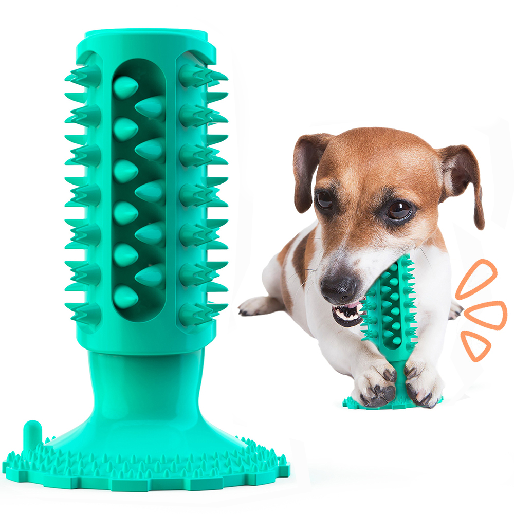 Cuttie Dog Toys for Large Dogs Toothbrush Squeak Toys for Small Dogs Puppy Chew Toy Dog Supply Accessories Pet Products