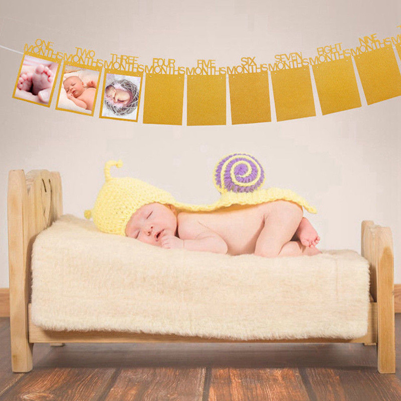 2018-Newest-Hot-Baby-1st-Birthday-Recording-Banner-1-12-Month-Boy-Girl-Party-Photo-Bunting