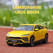 Maisto 1:24 Lamborghini Simulation alloy super toy car model For  with Steering wheel control front wheel steering toy car цена 2017