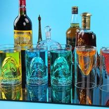 350 мл Духи Акула пивная стеклянная чашка красное вино двойная вода бар прозрачная стеклянная чашка виски бар клуб Коктейльные стеклянные чашки