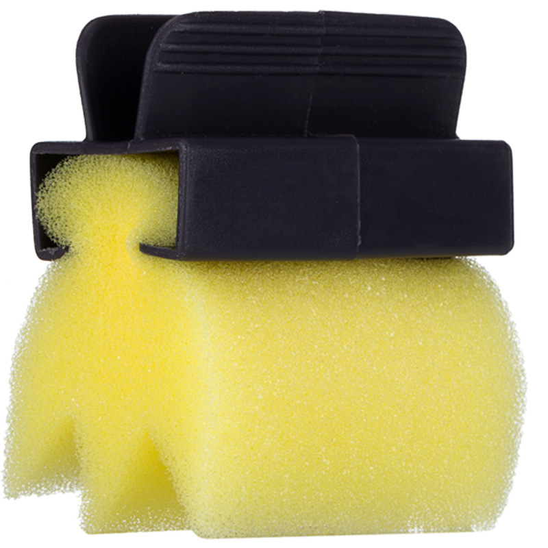 3 Pcs Hair Salon Dyeing Coloring Application Brush Soft Sponge Cutting Neck Cleaning Tools