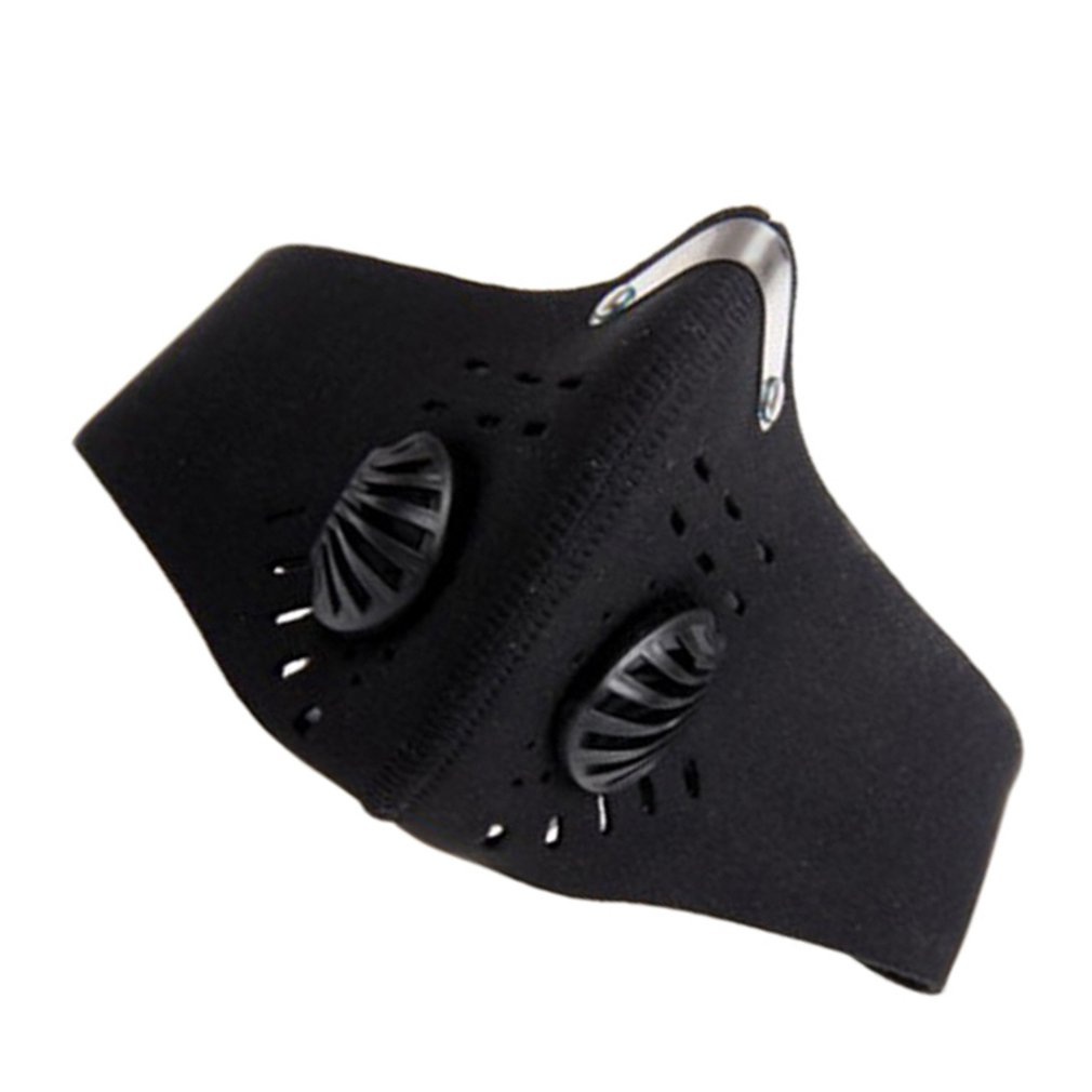 Dust Mask With Activated Carbon Filter Protective Mask Outdoor Sports Unisex Dust Mask Filter Protective Mask 2