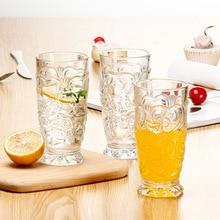 Стекло Персиковое сердце чашка ВАСО Ресторан напиток чашка завтрак молоко чашка Прозрачный коктейль бар личность бокал вина лучшие подарки