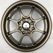 Хороший бронзовый цвет 14 дюймов 14x5,5 4x100 4x114,3 литые диски подходят для Nissan March