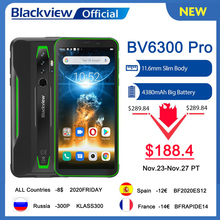 BLACKVIEW Helio P70 New BV6300 Pro 128GB 6GB NFC Wireless Charging Octa Core Fingerprint Recognition