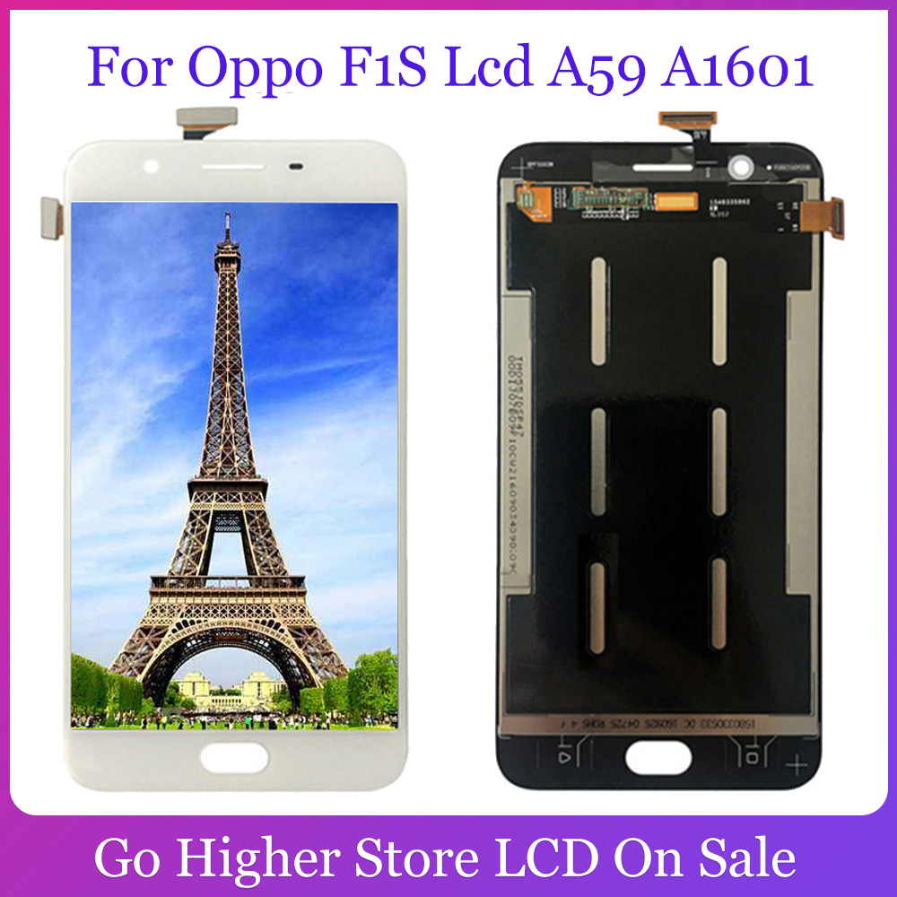 For <font><b>Oppo</b></font> F1S A59 <font><b>A1601</b></font> LCD Screen Display with Touch Screen Digitizer Assembly Free Tools image