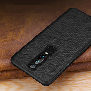 Image 5 - Vintage Cross Genuine Leather Case For Huawei Mate 20 RS Porsche Design Thin Smart Awake Sleep Flip Case Cover Mate 20 Pro X RS
