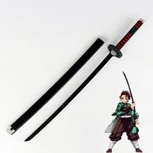 Kamado tanjiro prop cosplay replica espada demon slayer kimetsu no yaiba