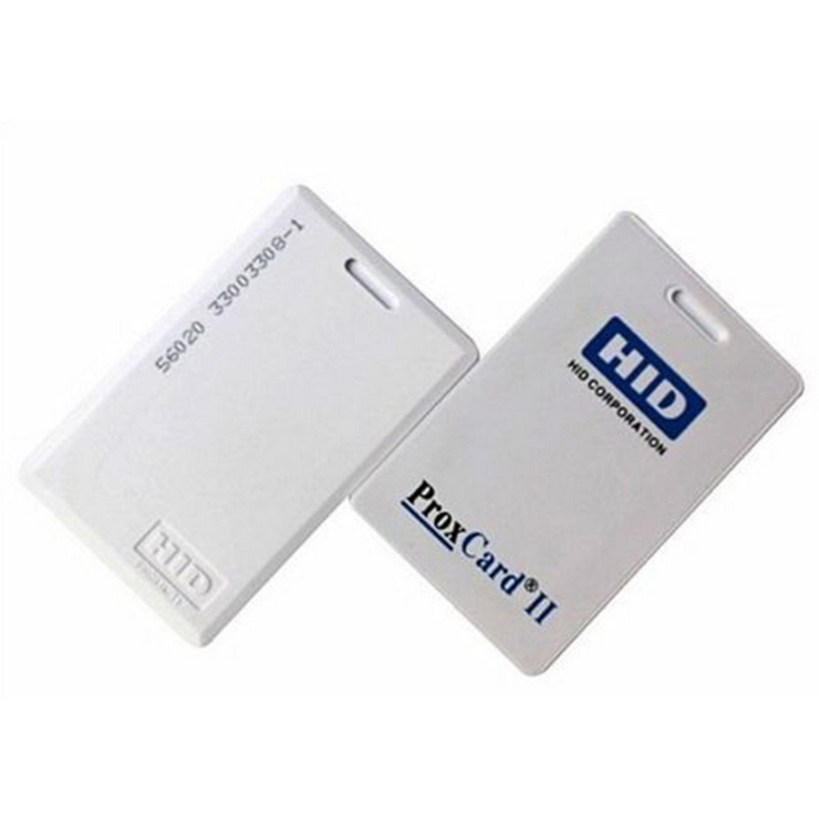 125khz HID Smart Card H ID 1326 PROX II Clamshell Keycards 26 Bit Rewritable RFID Proximity H-ID Thick Card