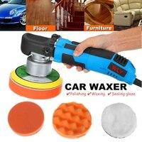 Car Polishing Machine Electric Cars Polisher Waxing Machine Automobile Furniture Polishing Tools Car Waxer Sander Buffer
