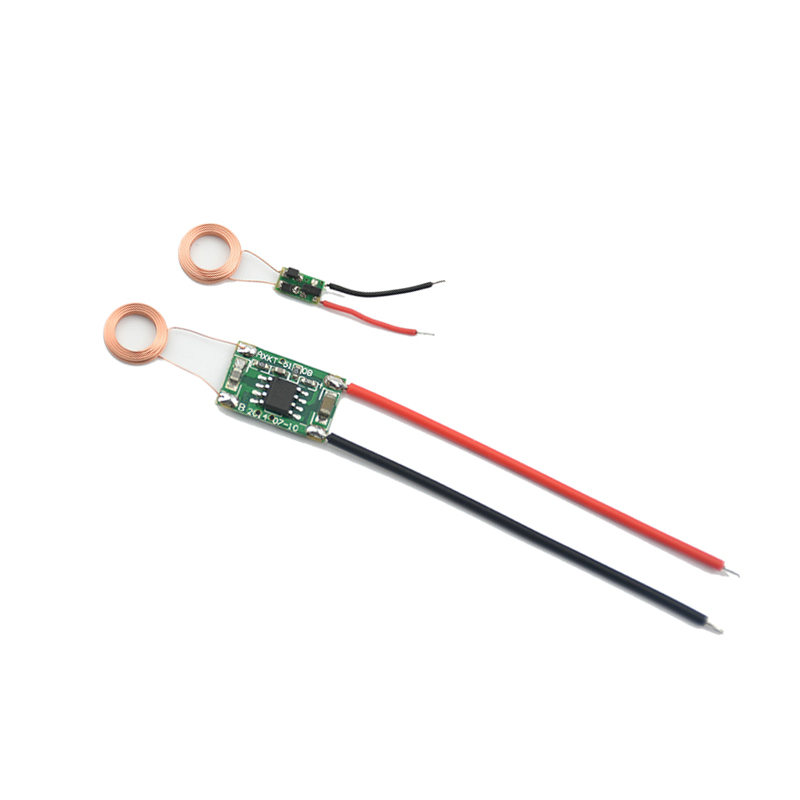 Wireless Power Supply Module 10mm Coil Small Receiving Wireless Charging Module Chip IC Solution