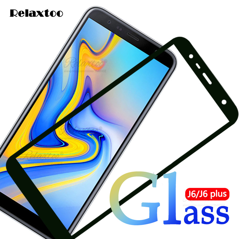 Protective Glass On For Samsung Galaxy J6 2018 Sm-j600f/ds Tempered Glass For Samsung J6+ J6 Plus 2018 Sm-j610fn Glas J 6 Film