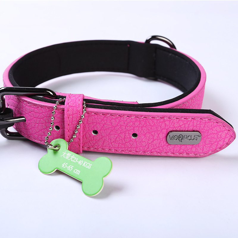 Dog Supplies Pet Collar Durbin French Bulldog Shiba Inu Teddy Large And Medium Small Dogs Case Neck Neck Ring