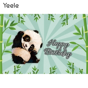 Image 4 - Yeele Cartoon Panda Polka Dots Baby Birthday Party sfondi per fotografia sfondo fotografico personalizzato per Studio fotografico