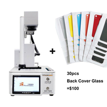 Os do pg/mg uns máquina de reparo do laser do lcd para o iphone 11/x/xs max/8 /8 + moldura de vidro traseira que separa a máquina de gravura do laser