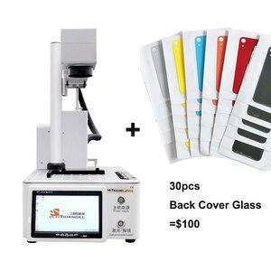 Image 1 - PG diejenigen/MG Diejenigen LCD Laser Reparatur Maschine Für iPhone 11/X/ XS Max /8 /8 + zurück Glas Trennung Laser Gravur Maschine
